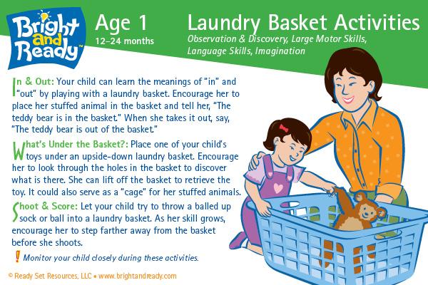 Laundry Basket Activities