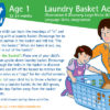 Laundry Basket Activities