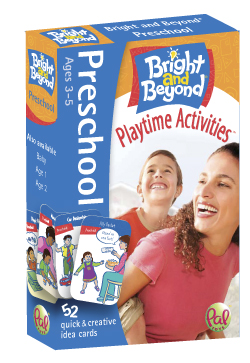 Bright and Beyond - Preschool - Outdated packaging. On sale for $7.50 per deck.