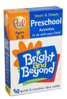 Bright and Beyond - Preschool (Ages 3-5) - first generation packaging. On sale for $5 per deck.